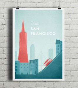 Plakat San Francisco
