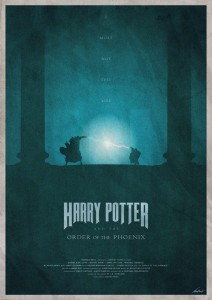 Plakat Harry Potter And The Order Of The Phoenix)