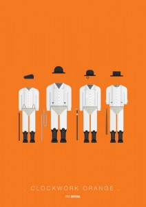 Plakat A Clockwork Orange